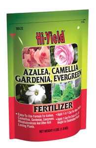 Hi-Yield FH32106 Azalea, Camellia, Gardenia, Evergreen Fertilizer 4-8-8 4 Lbs