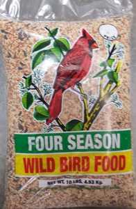 SHAFER SEED CO BD023X Four Season Wild Bird Seed 10lb