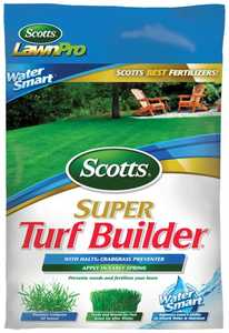 Scotts 3806 Super Turf Builder + Halts Crabgrass Preventer 5m