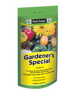 Ferti-Lome FE10785 Gardeners Special 11-15-11 15 Lbs