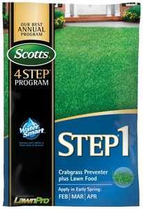 Scotts 39181 Scotts Step 1 Crabgrass Preventer+ Fertilizer 5m