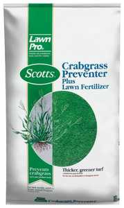 Scotts 39605 Lawn Pro Crabgrass Preventer Plus Lawn Fertilizer