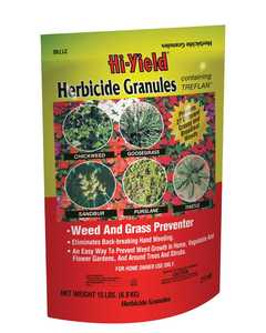 Hi-Yield FH21748 Herbicide Granules Weed And Grass Stopper 15 Lbs