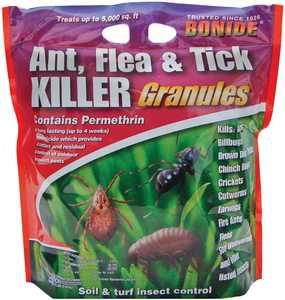 Bonide BP60614 Ant, Flea & Tick Killer Granules 10 Lbs