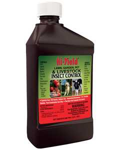 Hi-Yield FH32005 Lawn, Garden Pet And Livestock Insect Control 16 oz