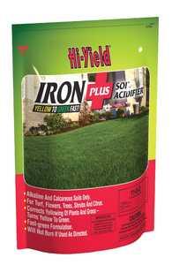 Hi-Yield FH32257 Iron Plus Soil Acidifier 11-0-0 4 Lbs