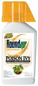 Monsanto 5002310 Roundup Poison Ivy Plus Brush Killer Concentrate 32 Oz