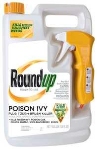 Monsanto 5002910 Roundup Poison Ivy Plus Brush Killer Rtu Gal