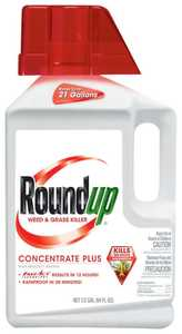 Monsanto 5006010 Roundup Weed And Grass Killer Concentrate Plus 1/2-Gallon
