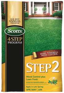 Scotts SI34160 Step 2 Weed Control+ Lawn Food 15k Sq Ft