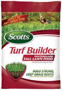 Scotts 38605D Turf Builder Winterguard Fall Lawn Food