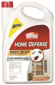 Ortho OR0193810 Home Defense Max Insect Killer Indoor & Perimeter Ready To Use Refill 1.33 Gal