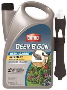 Ortho OR0489110 Deer B Gon Deer & Rabbit Repellent Ready To Use 1 Gal