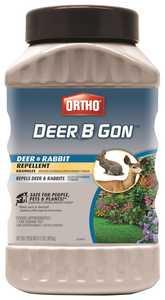 Ortho OR0489410 Deer B Gon Deer & Rabbit Repellent Granules 2 Lbs