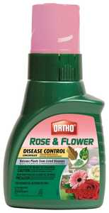 Ortho 9900810 Rose And Flower Disease Control Concentrate, 16 Oz