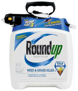 Monsanto MS5100114 Roundup Pump-N Go 2 Ready To Use Weed And Grass Killer 1.33 Gal