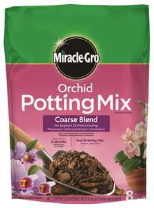 Miracle-Gro MR73978300 Orchid Potting Mix Coarse Blend 8 Qt
