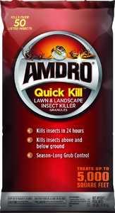 Amdro 100508230 Quick Kill Lawn And Landscape Insect Killer Granules