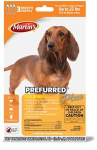 Martins MT4631 Prefurred Plus For Dogs Up To 22 Lbs