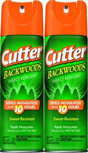 Cutter 737407 Backwoods Unscented Aerosol Insect Repellent 6 oz Hg-96280