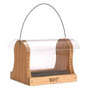Nature's Way BFBWF15 Bamboo Hopper Feeder 4 Qt
