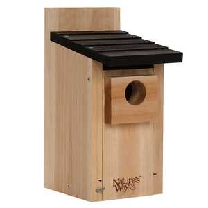 Nature's Way BFCWH3 Cedar Bluebird Box House