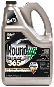 Monsanto 50007100 RoundUp Max Control 365 Ready-To-Use Refill 1-1/4 Gal