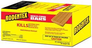 Central Garden 100513318 Rodentex Multi-Feed Bars 16 oz