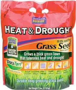Bonide BP60254 Heat & Drought Grass Seed 7lb