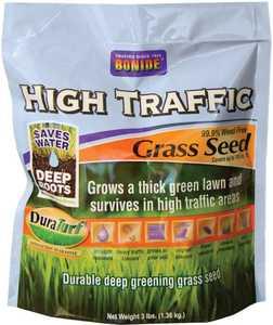 Bonide BP60281 High Traffic Grass Seed 3lb