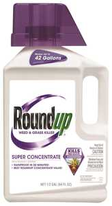 Monsanto MS5008510 Roudup&reg Weed & Grass Killer 50% Super Concentrate .5 Gal