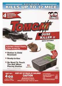 TOMCAT 23340 Tomcat Mouse Killer II 4pk