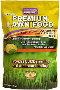 Bonide BP60464 Premium Lawn Food 20-0-10 15k Sq Ft