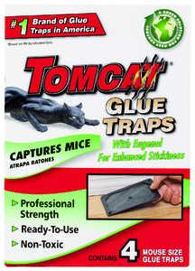 TOMCAT 32411 Mouse Glue Trap 4pk