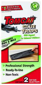 TOMCAT 32431 Rat Glue Trap 2pk