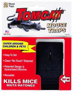TOMCAT 33505 Mouse Snap Trap 2pk