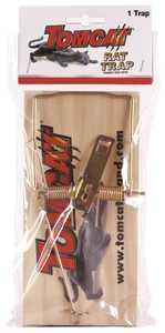 TOMCAT 33528 Wooden Rat Trap