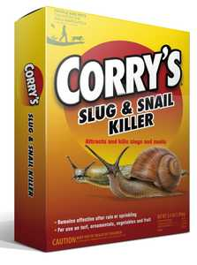 Central Garden 100511429 Corry's Slug And Snail Killer 3.5lb