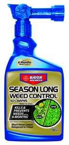Bayer Advanced 704040B Season Long Weed Control For Lawns Ready-To-Spray 24 oz