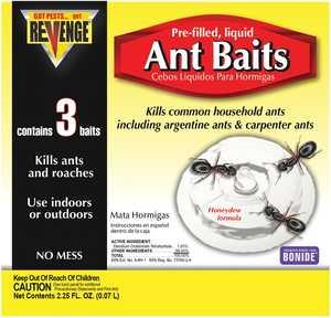 Bonide BP45100 Revenge Ant Bait Stations 3pk
