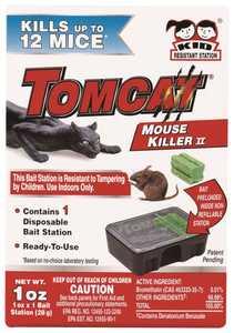 TOMCAT MC23310 Mouse Killer II Disposable Station