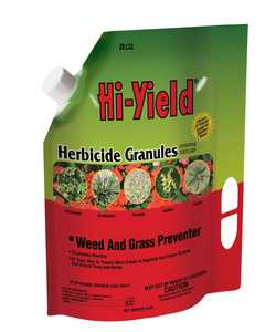 Hi-Yield FH22742 Herbicide Granules Weed And Grass Preventer 4 Lbs