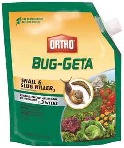 Ortho OR0475610 Bug-Geta Snail & Slug Killer 6lb
