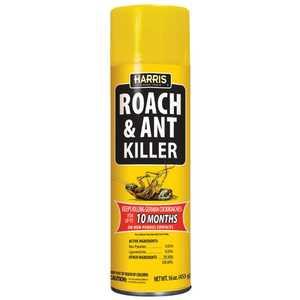 Harris PFRA16 Roach & Ant Killer 16 Oz Spray