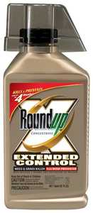 Monsanto 5705010 Roundup Concentrate Extended Control Weed And Grass Killer Plus Weed Preventer, 32-Ounce