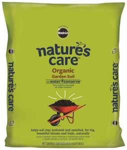 Scotts Miracle-Gro 71959630 Natures Care Oragnic Garden Soil With Water Conserve 1.5 Cu. Ft.