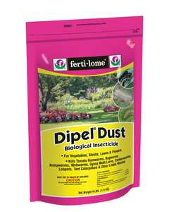 Ferti-Lome FE10859 Dipel Dust Biological Insecticide 4 Lbs