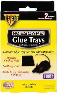 Bonide BP47020 Revenge Baited Glue Trays 2pk