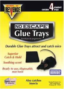 Bonide BP47026 Revenge Baited Glue Trays 4pk