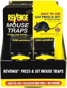 Bonide BP47080 Revenge Press & Set Traps 2pk